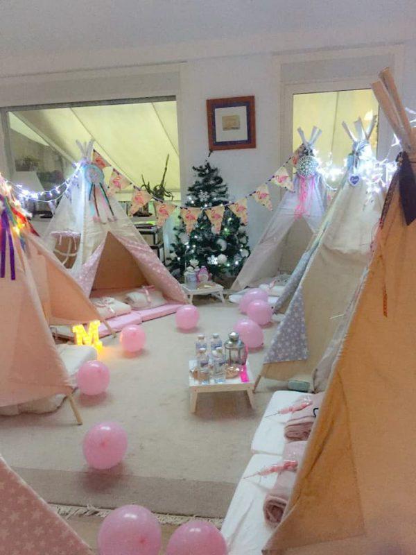 Fiesta Tipi Navidad Vigo Pontevedra