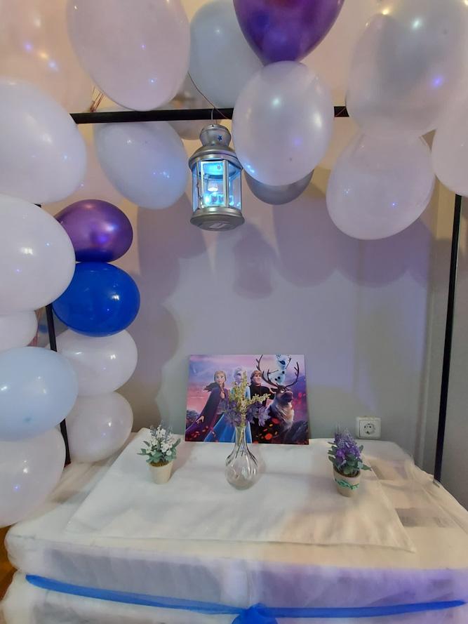 Cumpleaños de Daniella, Fiesta Tipi de Frozen.
