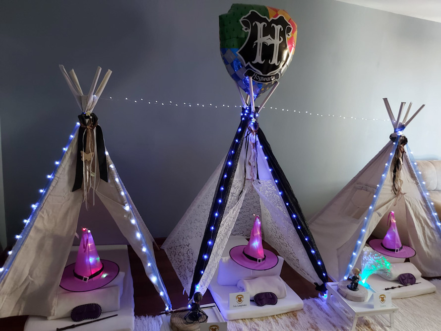 Cumple de Suevia, Tipi Fiesta de Harry Potter.