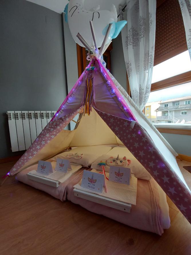 Mi Tipi Fiesta de Pijamas: 6º Cumpleaños de Martina en Pontevedra