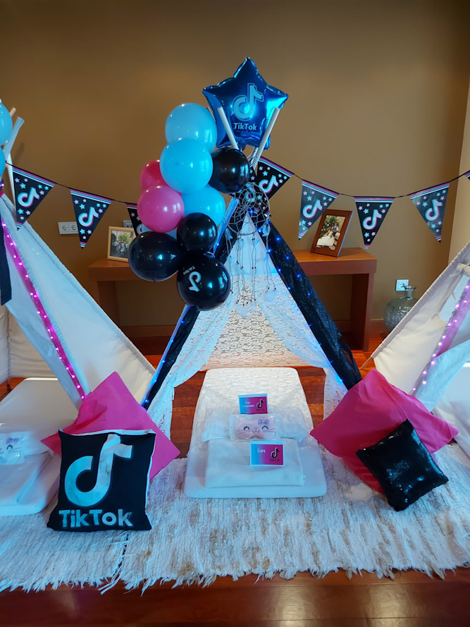 La mejor Fiesta de Cumpleaños, Tiktok Party para celebrar los 9 años de Leire