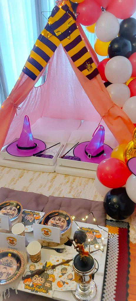 La Tipi Fiesta de Harry Potter de cumpleaños de Amaia