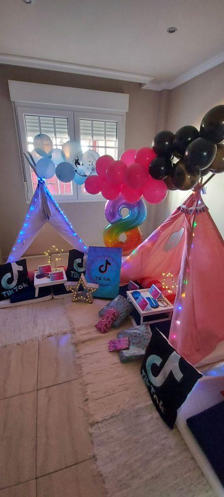 Fiesta de Cumpleaños TIK TOK para Lucía