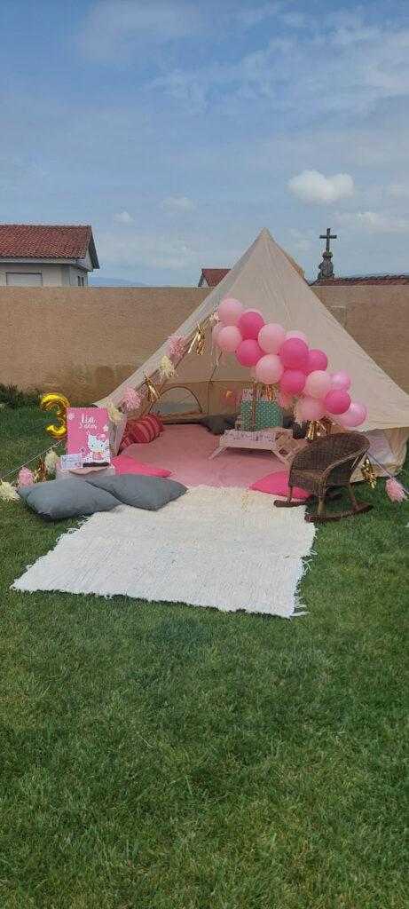 Fiesta de Cumpleaños de Lía, Hello Kitty con Jaima Tipi en Vigo